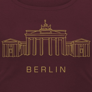 Brandenburg Gate in Berlin T-Shirts - Women's Scoop Neck T-Shirt