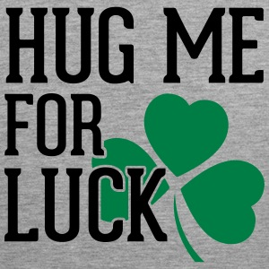 Hug Me For Luck Tank Tops - Men's Premium Tank Top