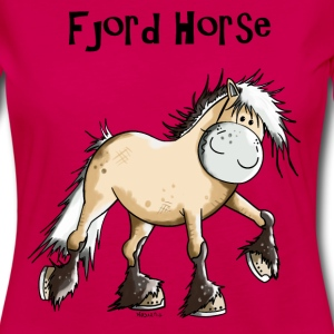 Happy Fjord Horse Long Sleeve Shirts - Women's Premium Longsleeve Shirt