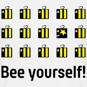 bee yourself T-Shirts - Men's T-Shirt