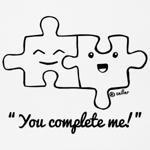 You Complete Me Sonstige - Mousepad (Querformat)
