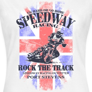 Speedway Racing - Union Jack Vintage Flag T-Shirts - Women's T-Shirt