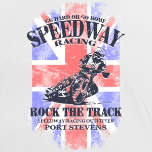Speedway Racing - Union Jack Vintage Flag T-Shirts - Women's Ringer T-Shirt