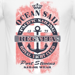 Ocean Sail Regatta - Denmark Sailing T-Shirts - Men's Slim Fit T-Shirt