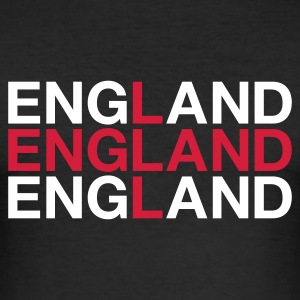 :: ENGLAND :: Tee shirts - Men's Slim Fit T-Shirt