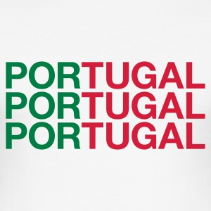 :: PORTUGAL :: - Männer Slim Fit T-Shirt