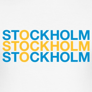 :: STOCKHOLM :: T-Shirts - Men's Slim Fit T-Shirt
