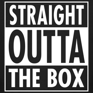 Straight Outta The Box Magliette - T-shirt ecologica da uomo