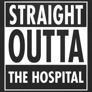 Straight Outta The Hospital Tee shirts - T-shirt Homme col V