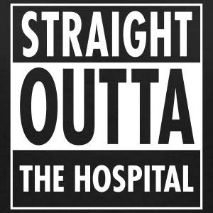 Straight Outta The Hospital T-Shirts - Women's V-Neck T-Shirt