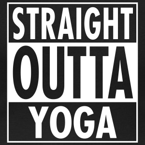 Straight Outta Yoga T-Shirts - Women's Scoop Neck T-Shirt