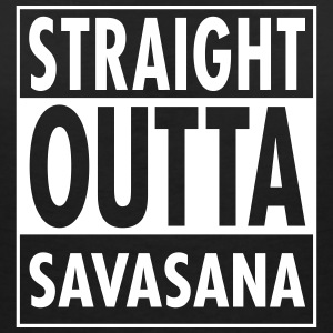 Straight Outta Savasana T-Shirts - Women's V-Neck T-Shirt