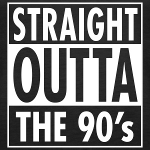 Straight Outta The 90's Tops - Women's Premium Tank Top