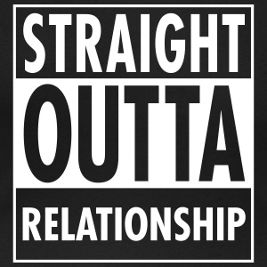 Straight Outta Relationship T-Shirts - Women's Scoop Neck T-Shirt
