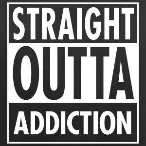 Straight Outta Addiction Tops - Vrouwen tanktop ademend