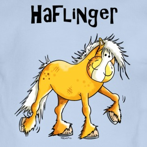 Hazel the Haflinger Shirts - Organic Short-sleeved Baby Bodysuit