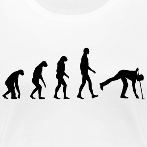 Evolution golf T-Shirts - Women's Premium T-Shirt