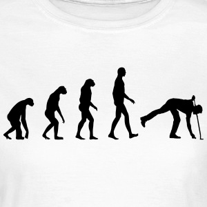 Evolution golf T-shirts - Dame-T-shirt
