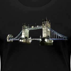 Tower Bridge T-skjorter - Premium T-skjorte for kvinner
