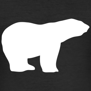 Polar Bear T-Shirts - Männer Slim Fit T-Shirt