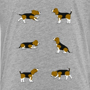 Beagle selection Shirts - Teenage Premium T-Shirt