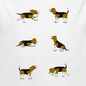 Beagle selection Bodies bebé - Body orgánico de manga larga para bebé