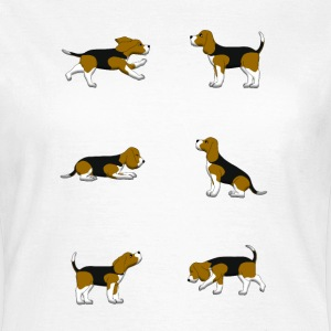 Beagle selection T-skjorter - T-skjorte for kvinner