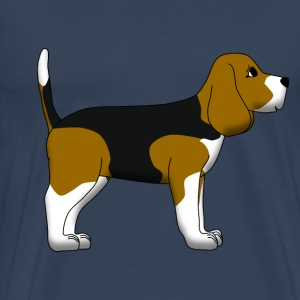 Beagle T-Shirts - Men's Premium T-Shirt
