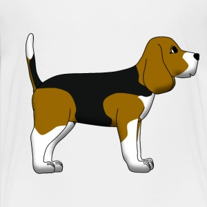 Beagle Shirts - Teenage Premium T-Shirt