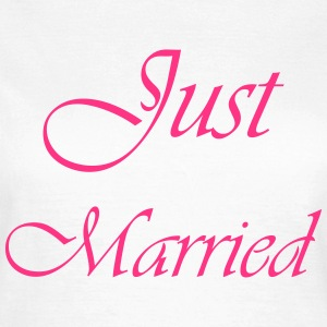 Just Married T-Shirts - Frauen T-Shirt