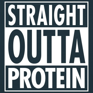 Straight Outta Protein Tee shirts - T-shirt Homme