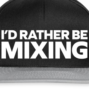 Rather Be Mixing Caps & luer - Snapback-caps