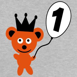 """Geburtstag T-Shirts mit """"1 Geburtstag Bär"""""""