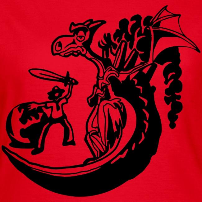 DPSG Kattwiga Frauen T-Shirt (Heldenzeit)