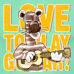 love to play guitar T-Shirts - Männer T-Shirt