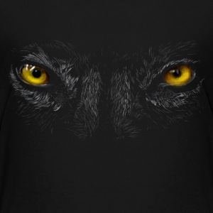Wolf eyes Shirts - Teenage Premium T-Shirt