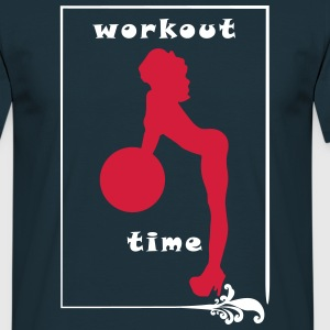 Workout Time - Men's T-Shirt