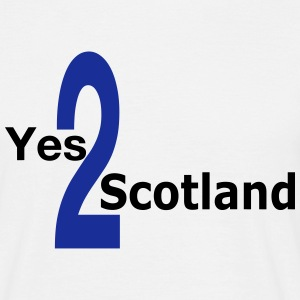 Yes to Scotland Independence T-shirt - Men's T-Shirt