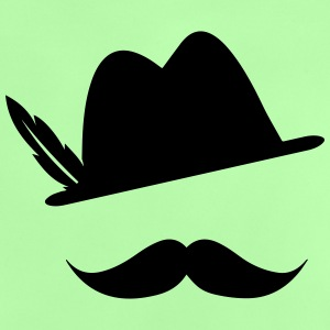 Funny Moustache (Hat) Oktoberfest Smiley - Outfit Shirts - Baby T-shirt