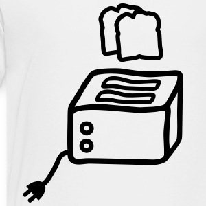 toaster toast Shirts - Teenage Premium T-Shirt