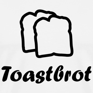 2 slices of toast T-Shirts - Men's Premium T-Shirt