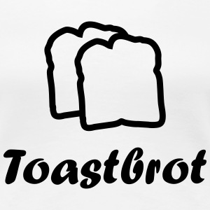 2 slices of toast T-Shirts - Women's Premium T-Shirt