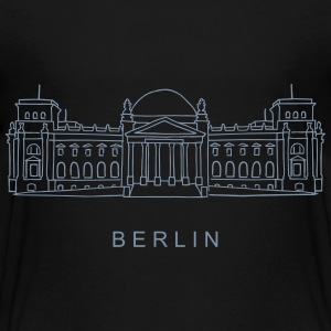 Reichstag building in Berlin Shirts - Teenage Premium T-Shirt