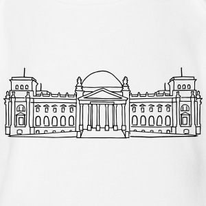 Reichstag building in Berlin Shirts - Organic Short-sleeved Baby Bodysuit