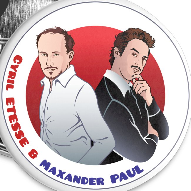 Badge Cyril et Max
