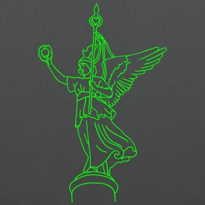 Goldelse Siegessäule Berlin neon-grün