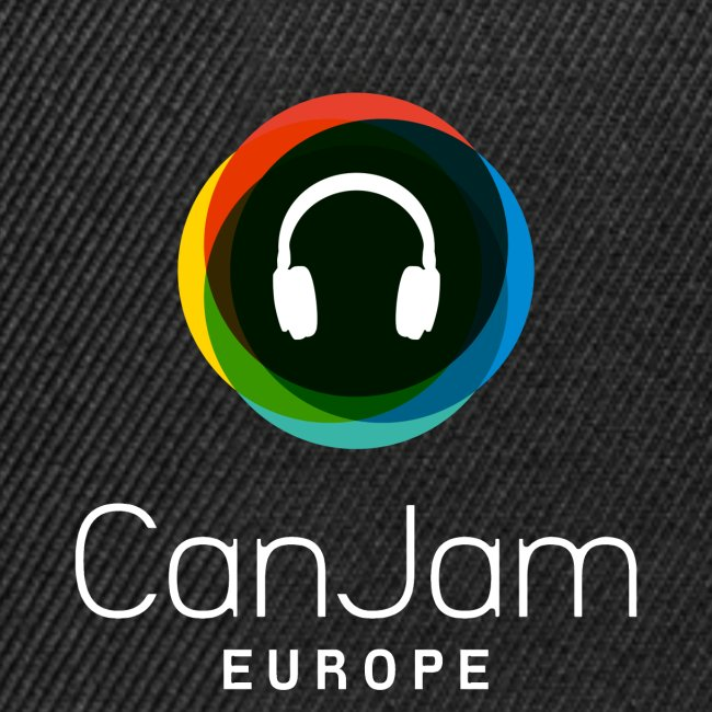 CanJam Europe - trucker cap (logo wt)