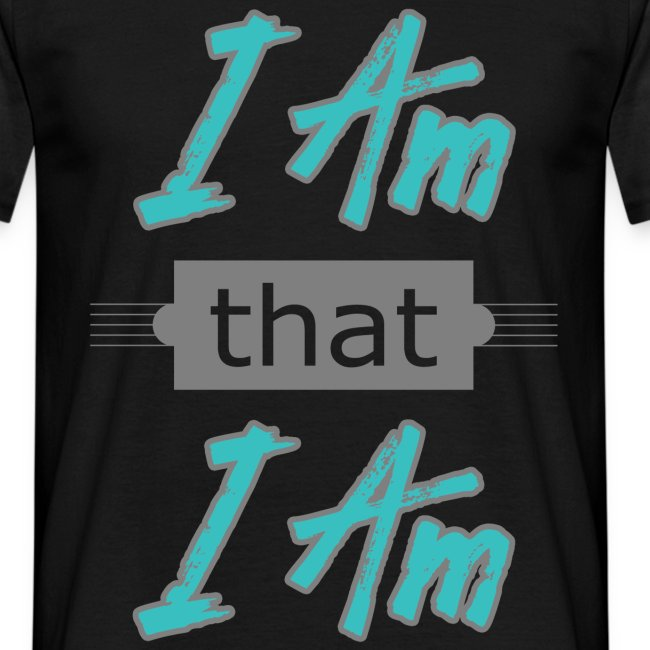Herre T-shirt - am that I am
