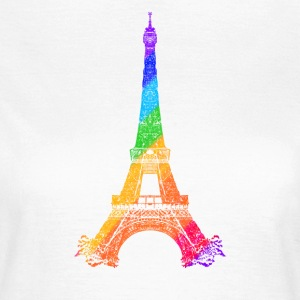 Eiffel tower T-shirts - Vrouwen T-shirt