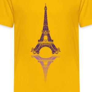 Eiffel tower Shirts - Teenage Premium T-Shirt